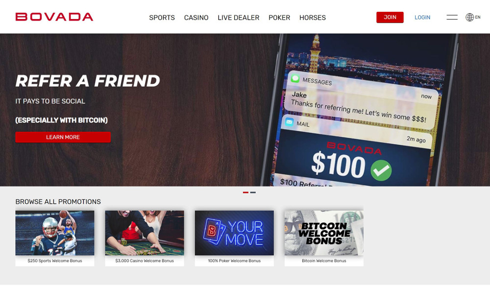 bovada promotions