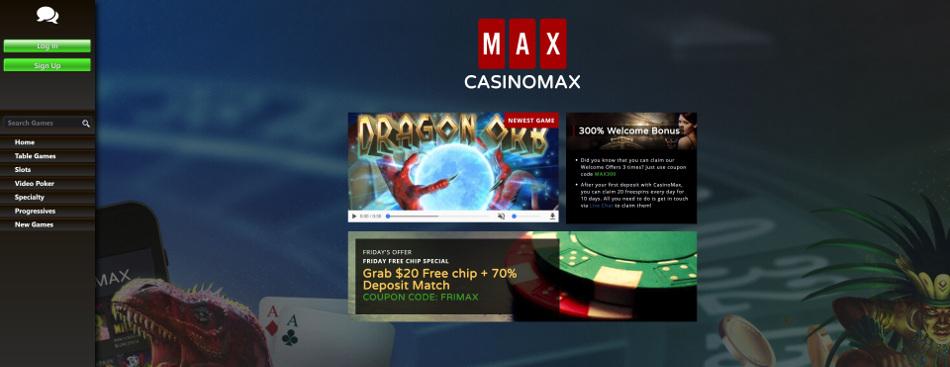 casino max lobby