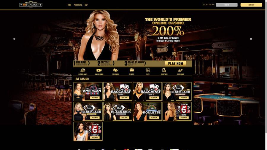 myb casino home