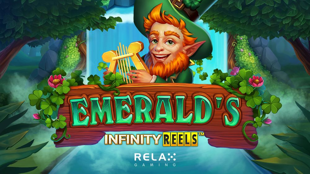 emeralds infinity reels slot by relax gaming