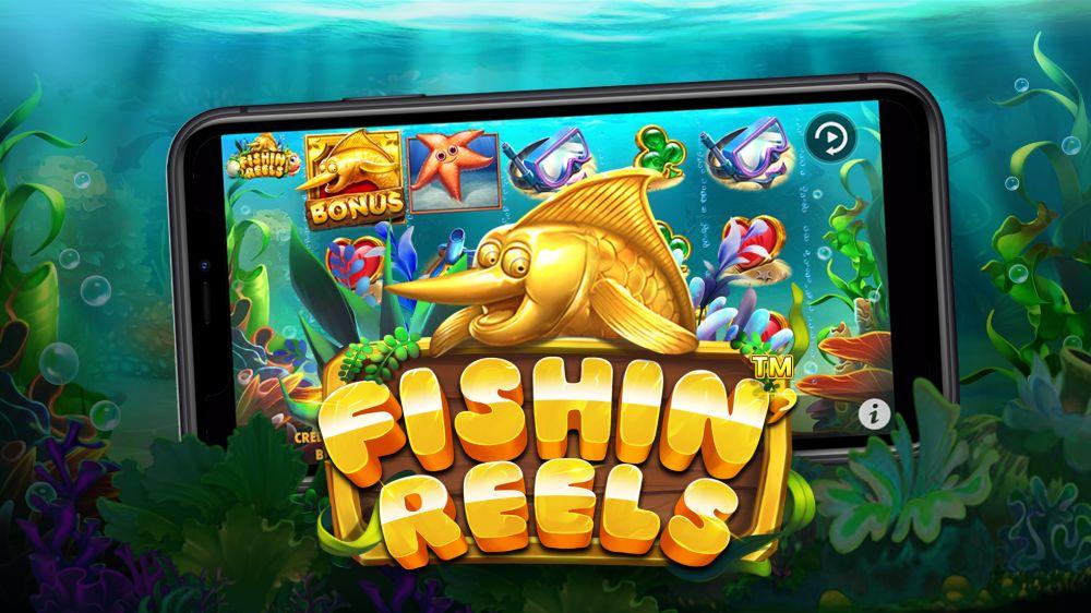 fishin reels slot by pragmatic play