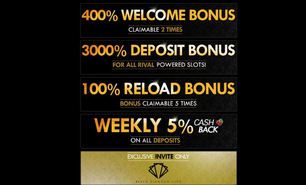 casino bonus and promotions