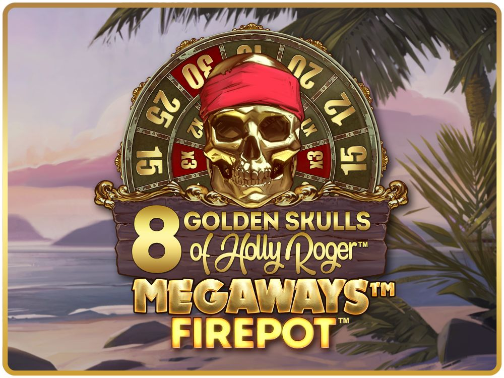 8 Golden Skulls of Holly Roger Megaways slot