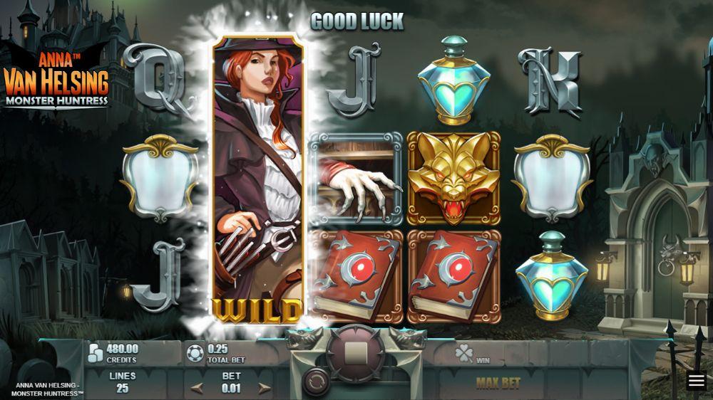 Anna Van Helsing Monster Huntress Slot