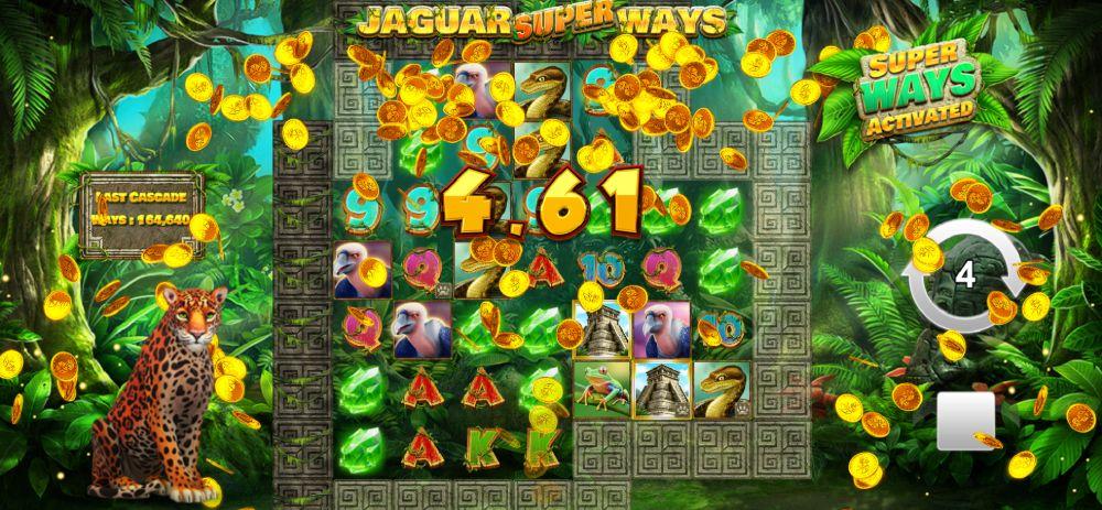 jaguar superways slot by yggdrasil