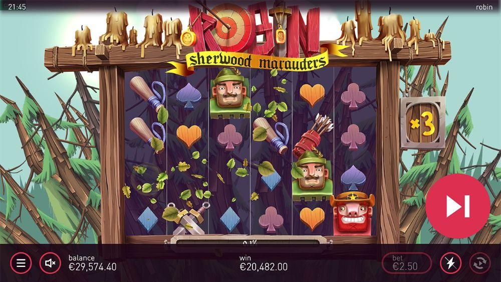 Robin Sherwood Marauders Slot by yggdrasil
