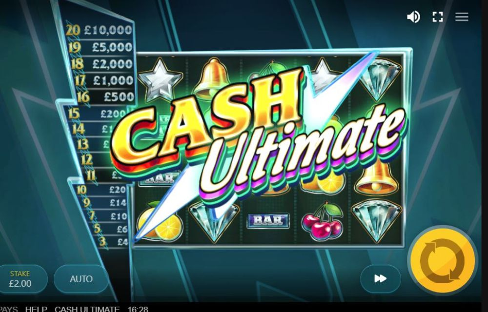 cash ultimate slot by red tiger