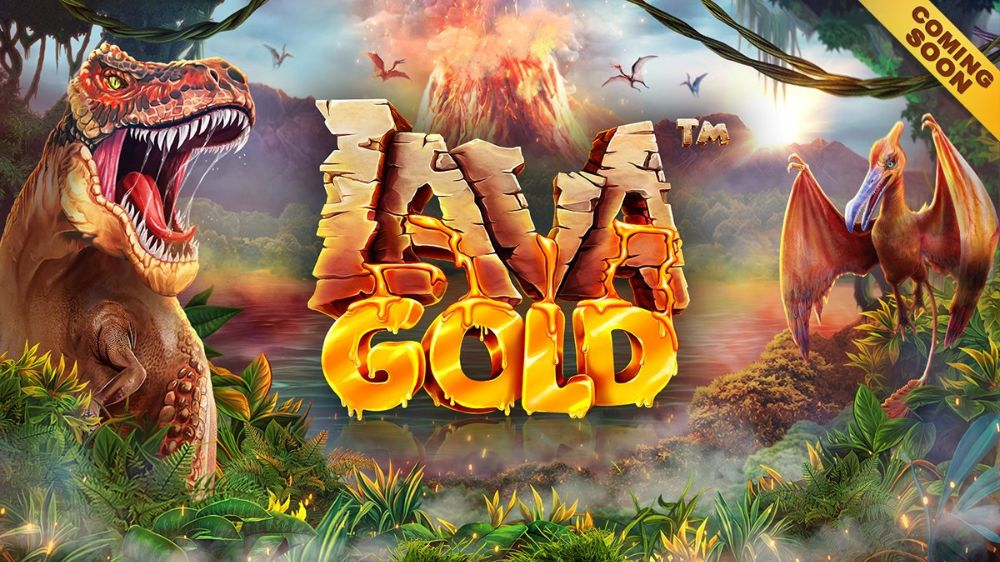 lava gold slot by betsoft
