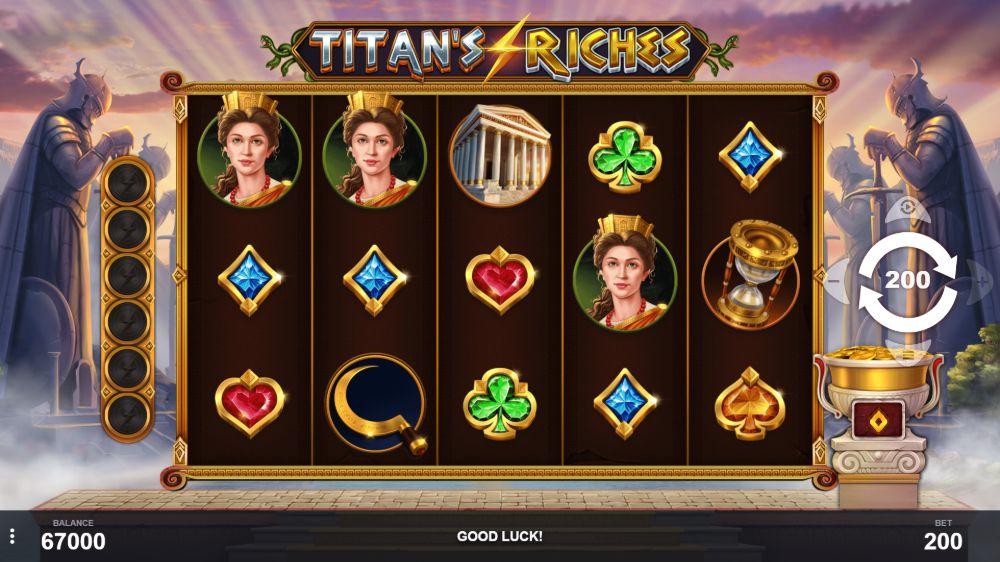 titan's riches slot