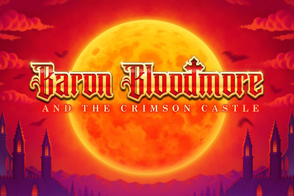 Baron Bloodmore and the Crimson Castle slot by thunderkick