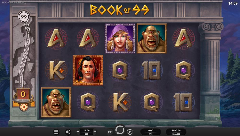 book of 99 slot by relax gaming