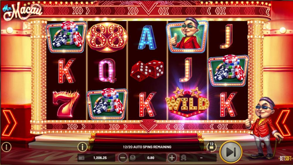 mr macau slot by betsoft