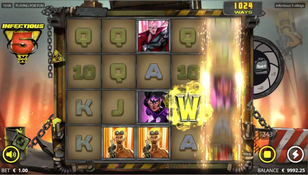 infectious 5x ways slot