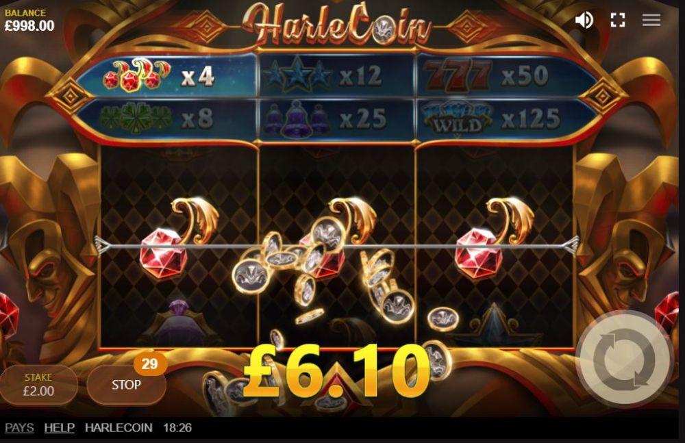 harlecoin slot by redtiger gaming