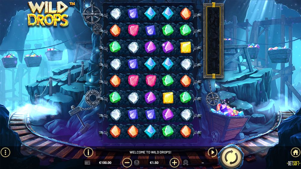 wild drops slot game