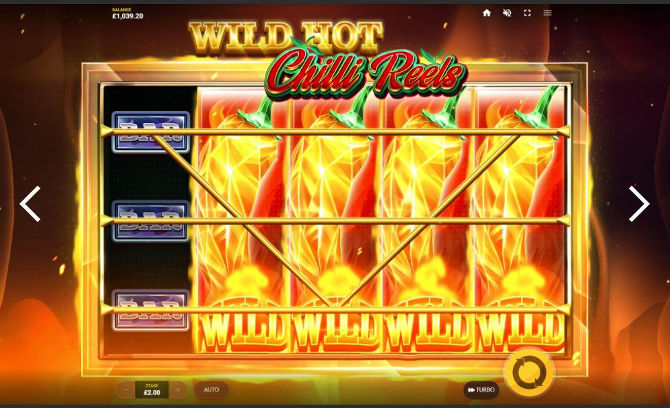 wild hot chilli reels slot by red tiger gaming