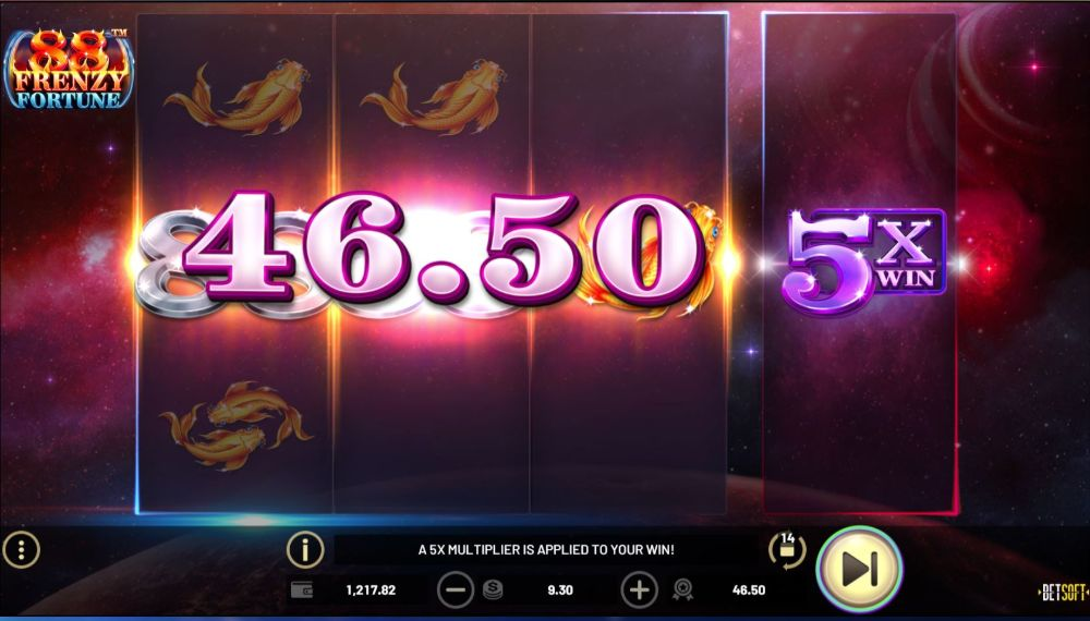 88 frenzy fortune slot betsoft