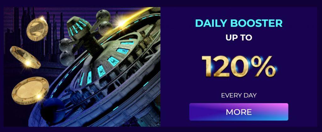 120 % casino bonus