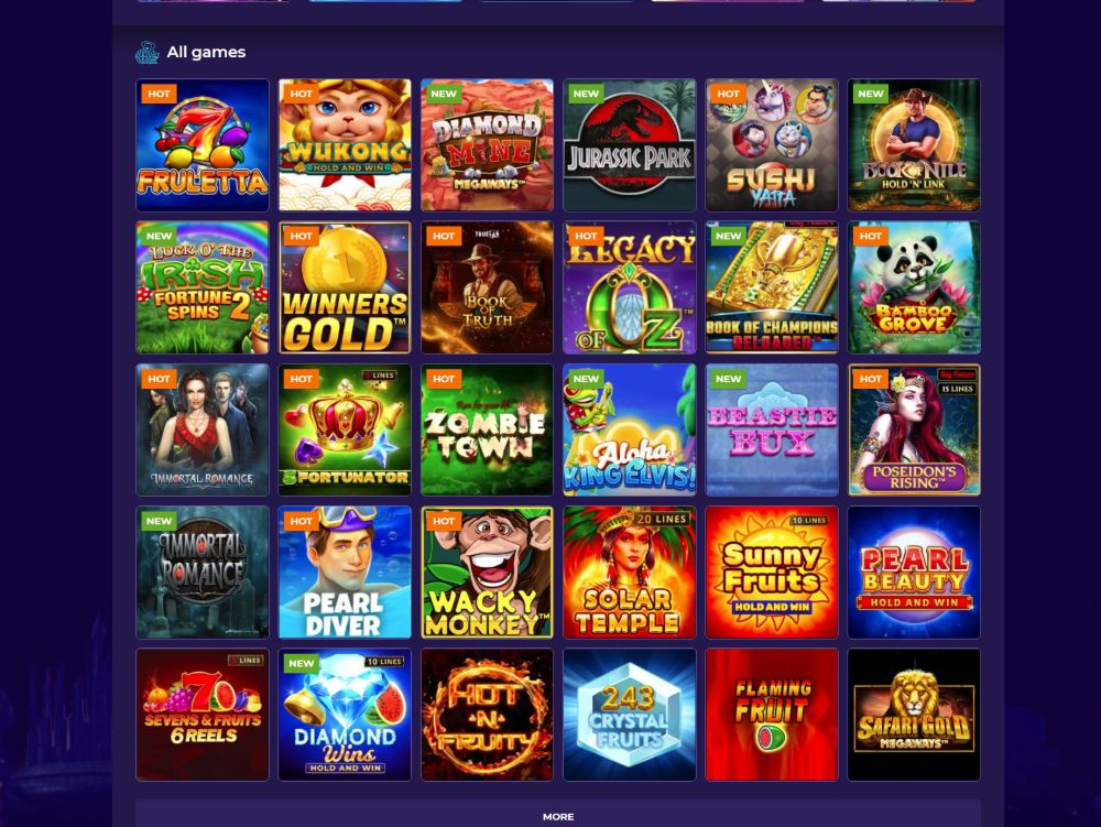 slots at andromeda casino