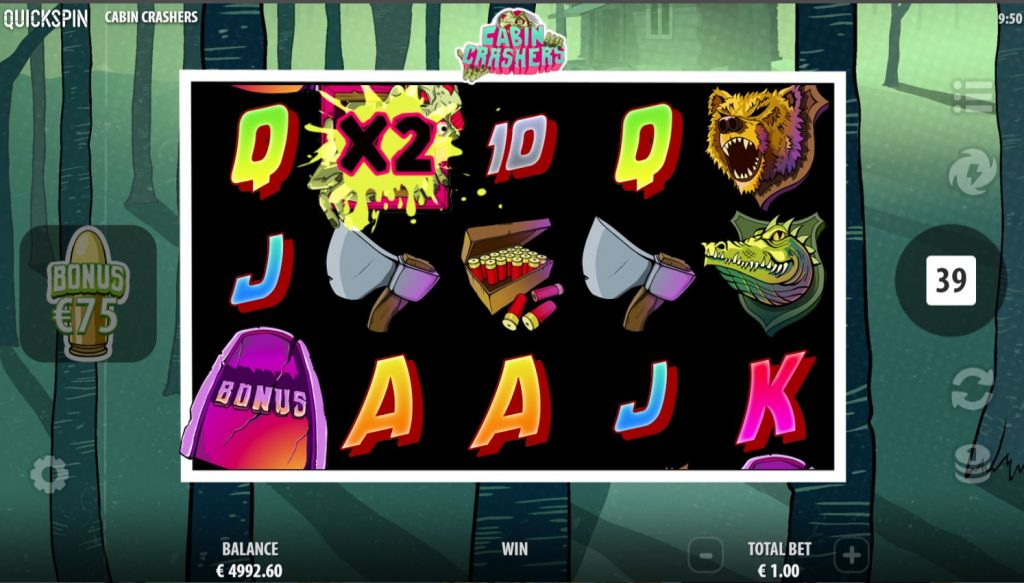 cabin cashers slot by quickspin