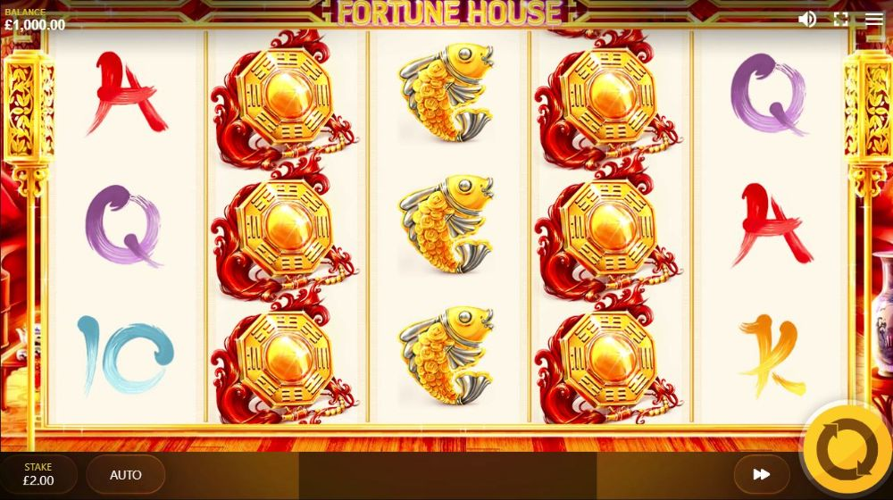 fortune house power reels slot by red tiger gaming