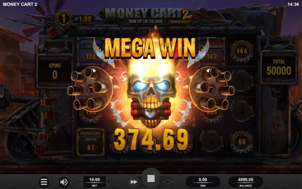 money cart 2 slot by relax gaming