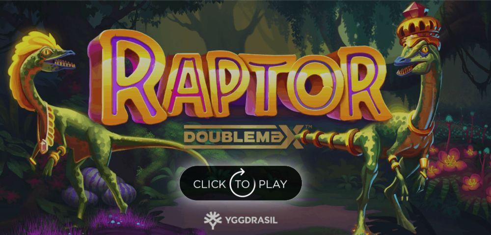 raptor doubemax slot by yggdrasil