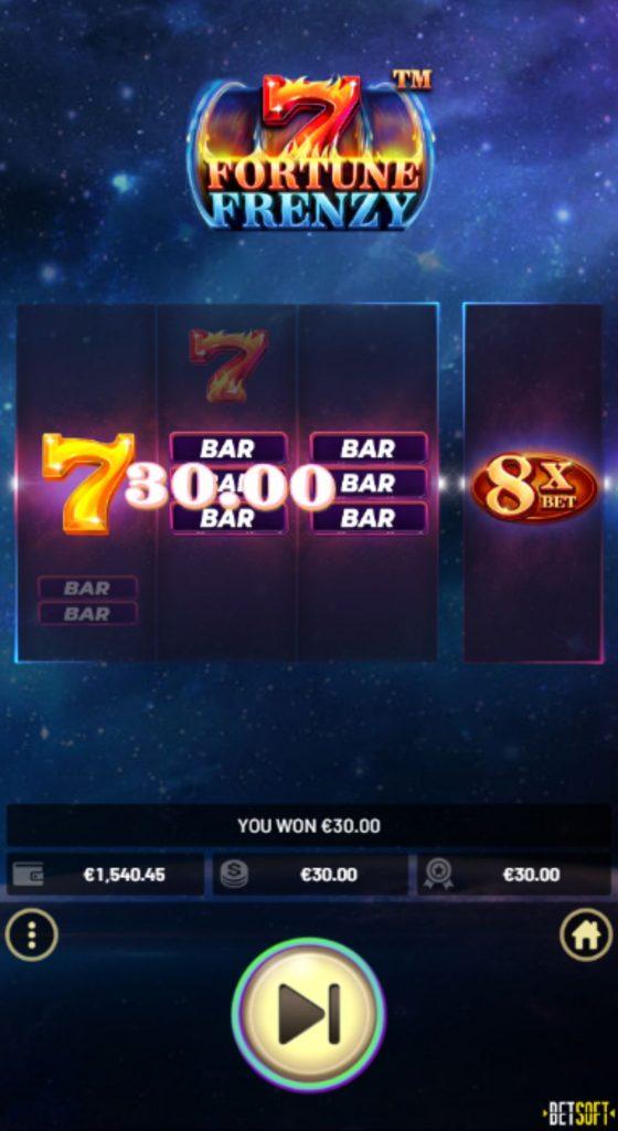 7 fortune frenzy slot